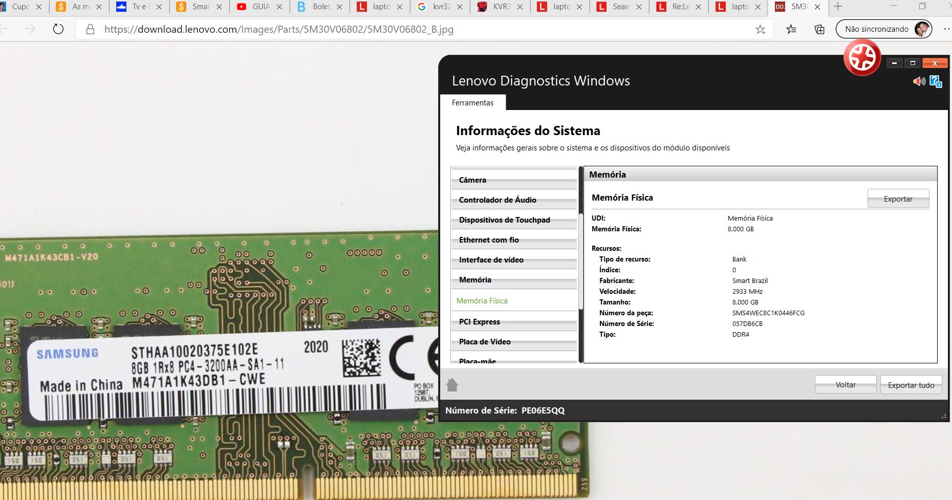 RAM DDR 3200mhz