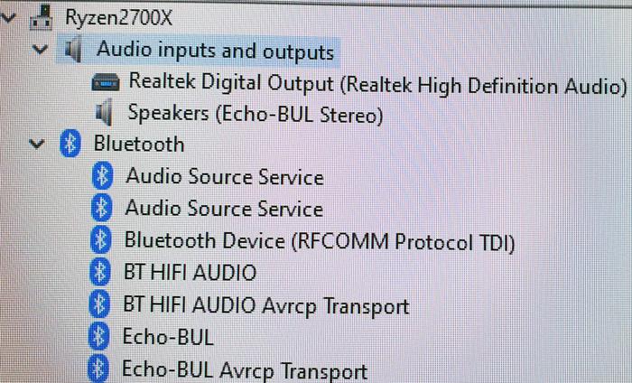 No hdmi sound output detected