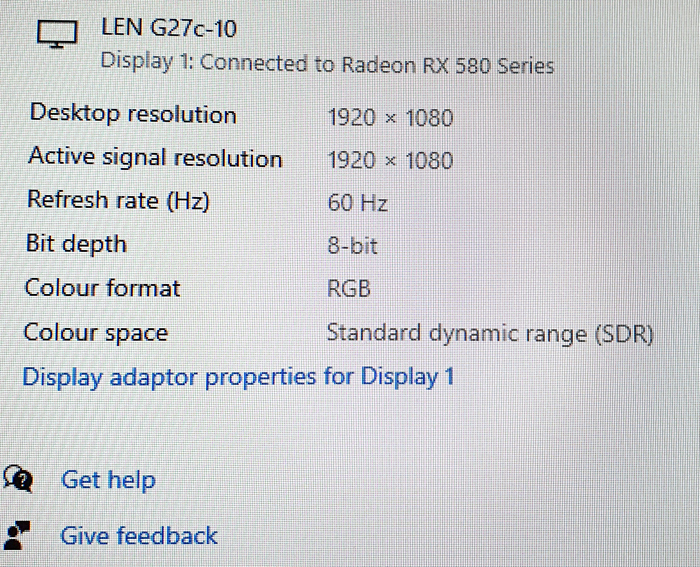 Only defaults to 60 hz