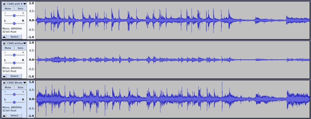 Waveform audio