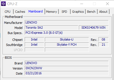 Motherboard Ideapad 310-15ISK