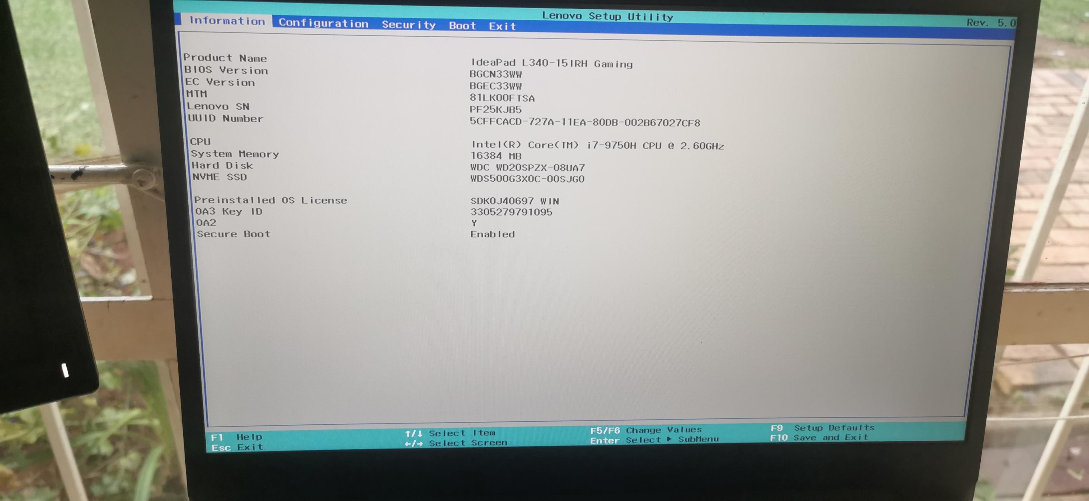 BIOS-Information