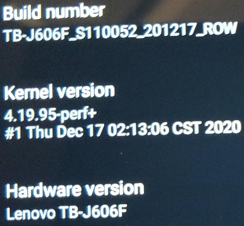 P11 Firmware Version