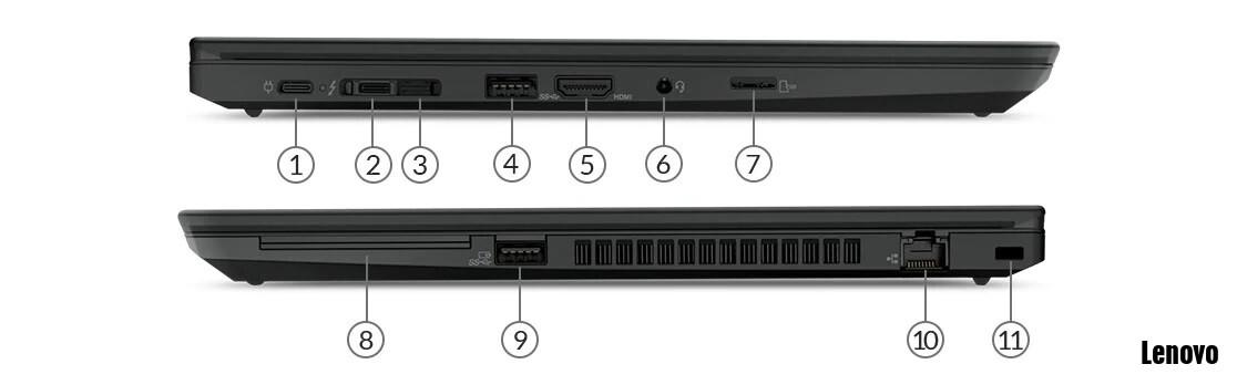lenovo t490 ports